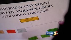 Domestic violence court to help convicts in Baton Rouge | WBRZ News 2 Louisiana : Baton Rouge, LA |