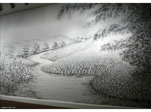Рисунки углем пейзаж 6