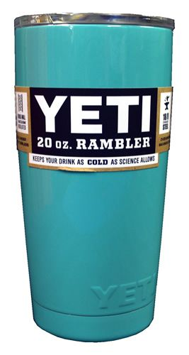 Yeti 20 oz Seafoam Rambler | Shop Strands Outfitters of Oak Island