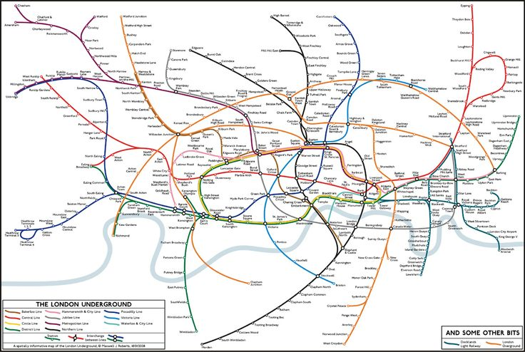 Tube Map Distorting Scale Without Becoming Diagrammatic