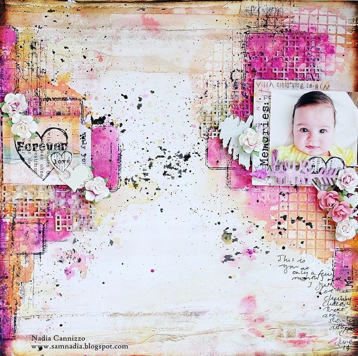 Just My Scrapping World.. : A layout for 7 Dots Studio + a video tutorial!, Nadia Cannizzo , Dreamer collection