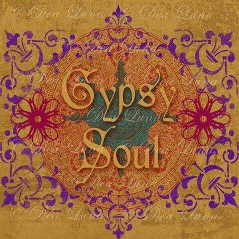 INSTANT DOWNLOAD Gypsy Soul Graphic Digital Design Boho Bohemian