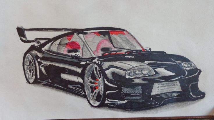 The 46 best car drawings images on Pinterest | Car drawings ...