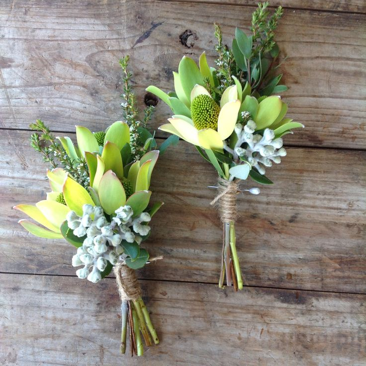 Pretty native Corsages at Peninsula Wild Flower