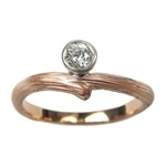 Diamond Vine Engagement Ring - Rose Gold: Vine Engagement, Diamond Vine, Engagement Ring, Rose Gold