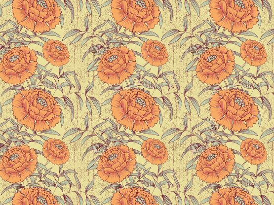 """""""vintage peony"""" by cameo"""