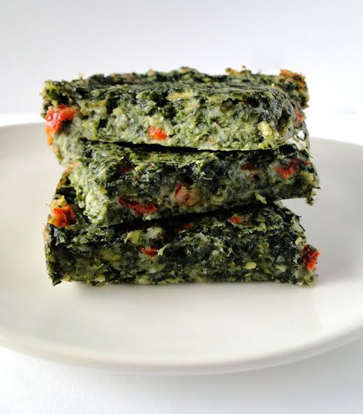 Spinach Brownies  #spinach