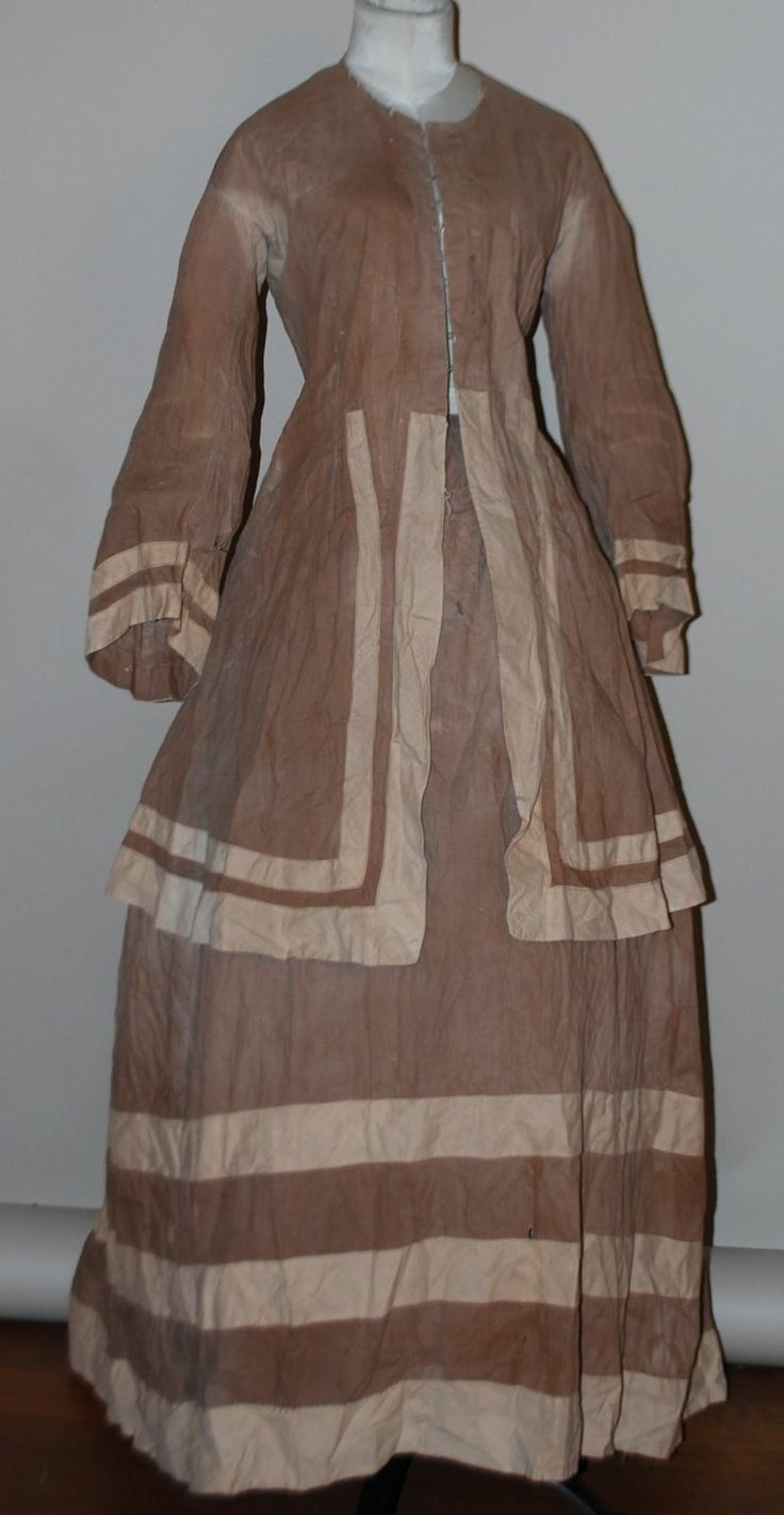 37 best maternity clothes through the centuries images on 1870s 2 pc 2 tone cotton bustle gown w bell sleeves ebay seller jamiexmas ombrellifo Images