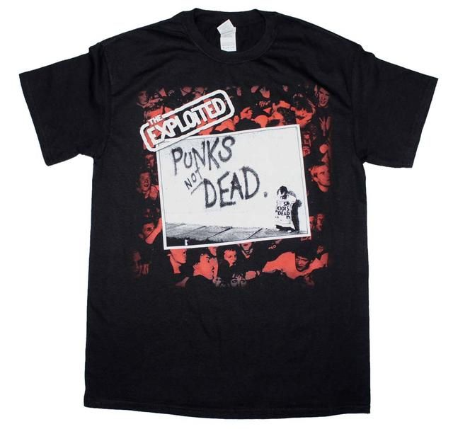The Exploited Punk S Not Dead T Shirt Http Edeadshop Com Products The Exploited Punks Not Dead T Shirt Punks Not Dead Shirts T Shirt