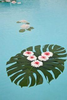 Pool accents at La Costa Resort & Spa, Carlsbad, CA