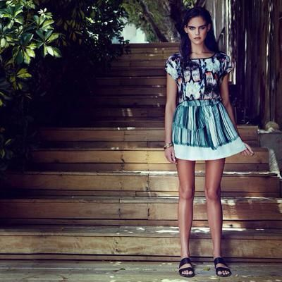 Get tropical! Shope perfect summer pieces at #AboutYou #CovetMe #covetme