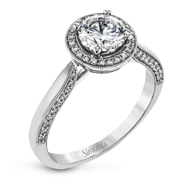 TR702 Engagement Ring   Simon G. Jewelry
