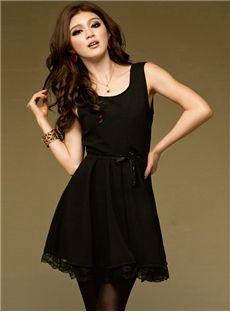 Cheap black plus size club dresses