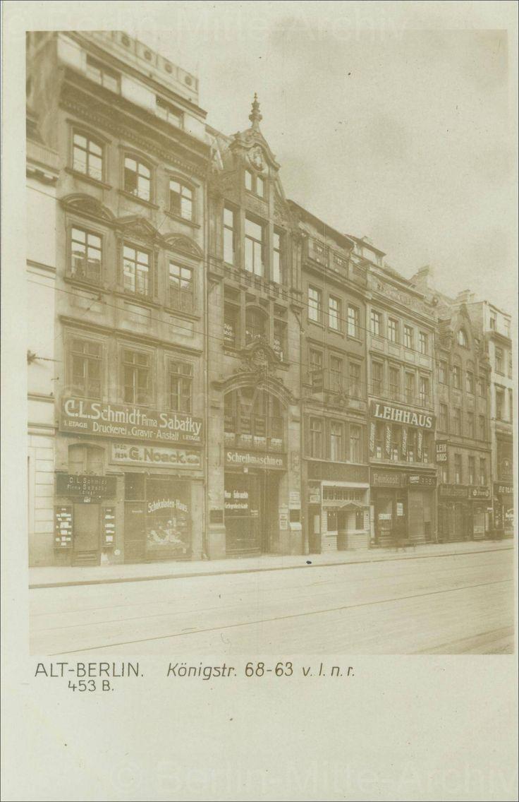 Königstraße 63 Bis 68 (Nr. 63 Ganz Rechts, Nr. 67 Das Zweite