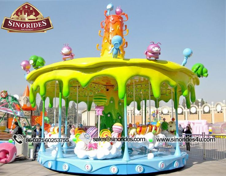 An amazing experience of enjoying the rides at the amusement park