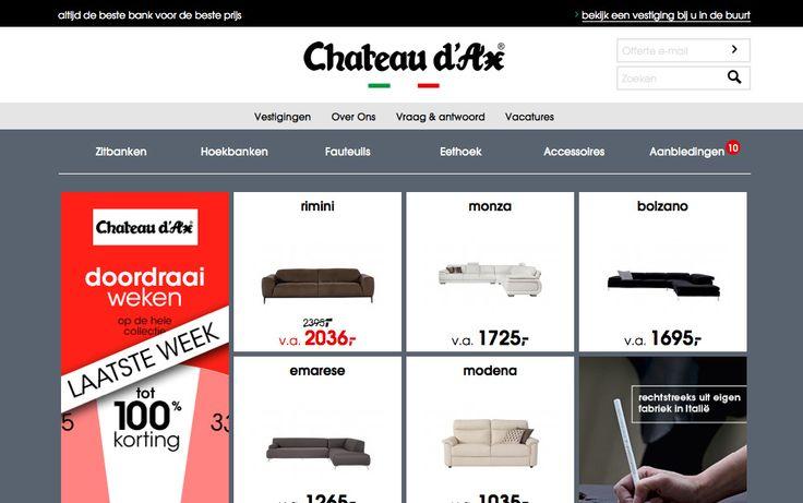 Chateau d'Ax - Website