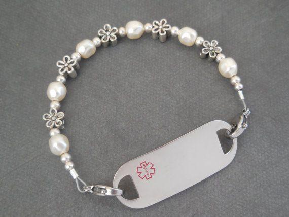 Bracelet identification médicale Bracelet dalerte médicale