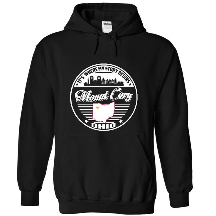 Mount Cory, Ohio - ᐊ Its Where My Story BeginsIf YOU were born, grew up, or lived in Mount Cory, Ohio then YOU remember, believe its where YOUR STORY begins! These T-Shirts and Hoodies are perfect for you! Get yours now and wear it proud! Mount Cory, Ohio