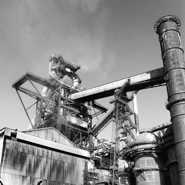 Blast Furnace Construction : Best north east architecture construction photographer