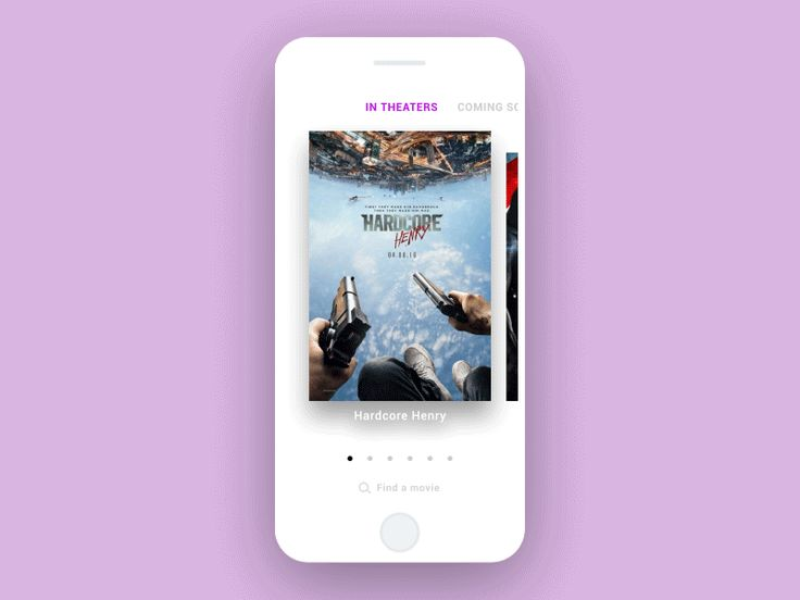 Movies Card - UI Interactions