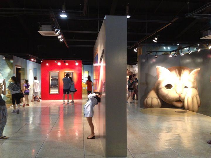 Best Trick Art Museum Ideas On Pinterest Itaewon Seoul Eye - Amazing 3d art museum lets visitors become part art