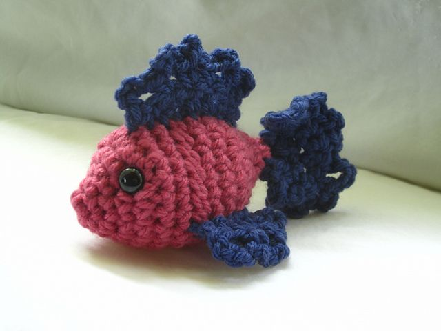 Fat Fish Amigurumi pattern by Chromo Crochet