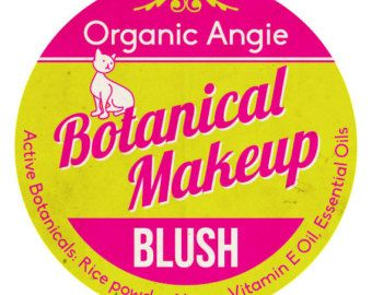 Make-up gele Blush Clay cosmetica | Minerale make-up | Cosplay | Zeemeermin | Natuurlijke organische cosmetica | Wang vlek | Vegan make-up
