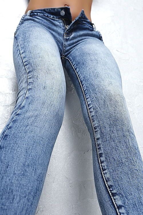 Neu Designer 2017 Fashion Damen Sexy Fit H92 Hot Luxus Jeans Pants Hose Blau 46