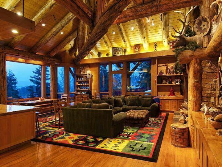 Amazing Log Cabin Home In Park City Utah