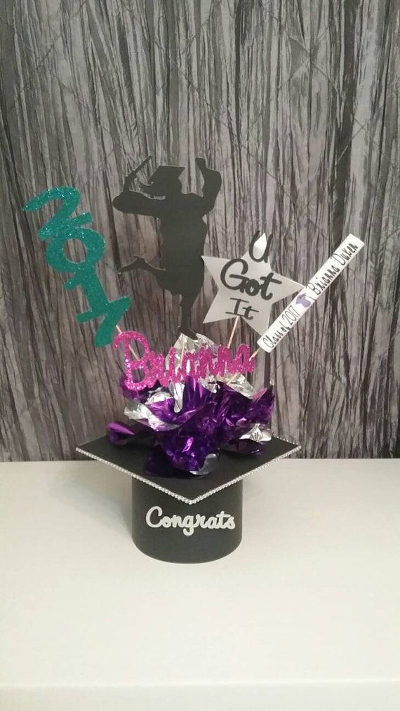 Check out this item in my Etsy shop https://www.etsy.com/listing/279313348/graduation-centerpiece