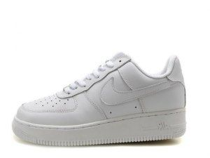 reputable site cf35c a8e5c Mens Womens Shoes Nike Air Force 1 AF1 07 Low Classi White 315122 111