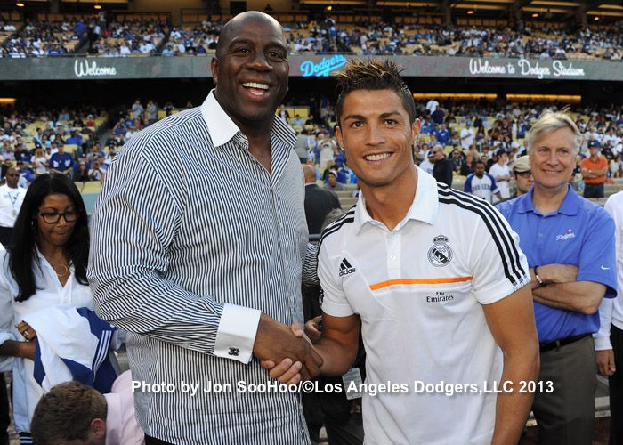 Magic Johnson & Cristiano Ronaldo