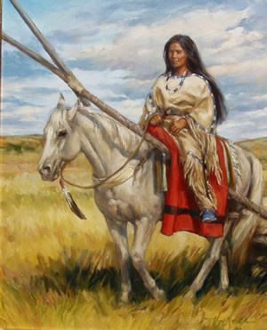 Western, Indian, Cowboy and Animal Art by Vel Miller