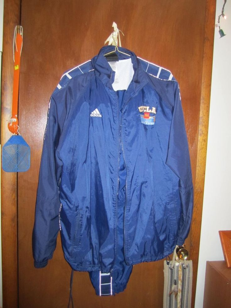 Adidas Men's Jogging suit size XL Tall With UCLA patch- Breathable interior #adidas #TracksuitsSweats