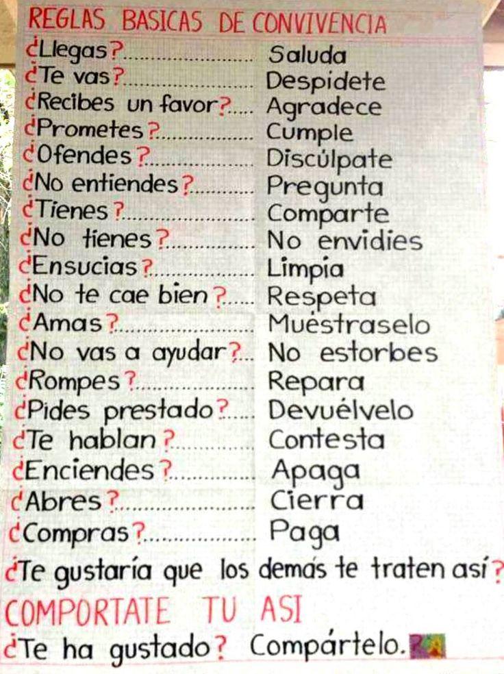"""#Facebook #ElShowDelPiolin  """"Reglas básicas de #Convivencia"""" #Valores, #Urbanidad"""