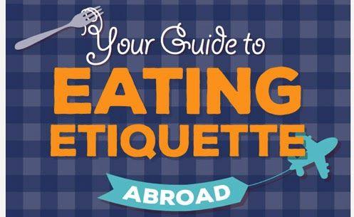 Innamorarsi in cucina: Il galateo a tavola all'estero