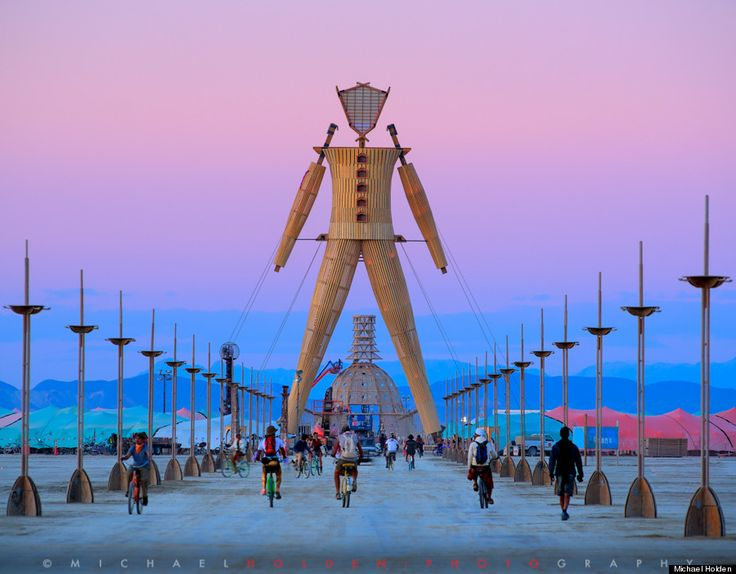Men Temple - Mesmerizing Photographs Prove Burning Man Has Far From 'Jumped The Shark' - More pics at http://www.huffingtonpost.com/2014/09/15/burning-man-photos_n_5806900.html (Source: Huffington Post)