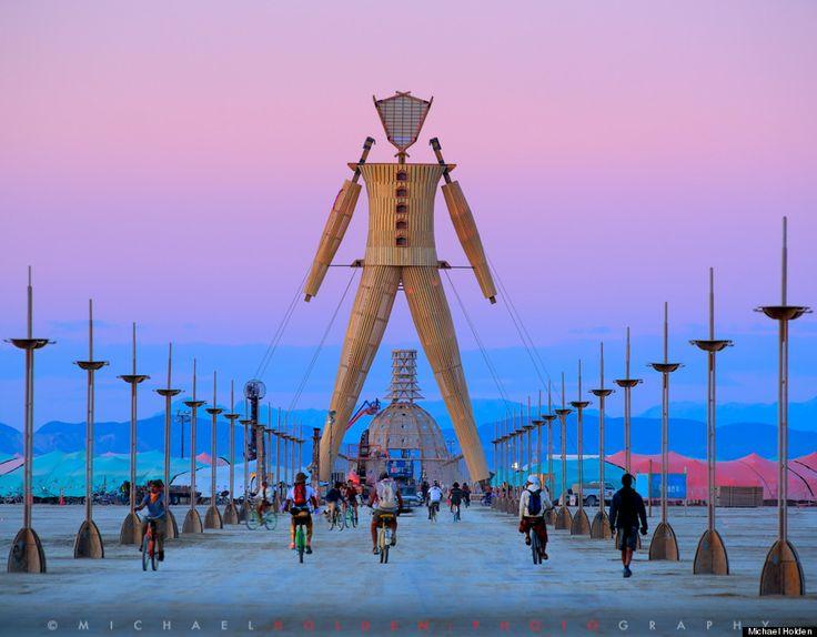 Men Temple - Mesmerizing Photographs Prove Burning Man Has Far From 'Jumped The Shark' - More pics at http://www.huffingtonpost.com/2014/09/15/burning-man-photos_n_5806900.html (Source: Huffington Post)