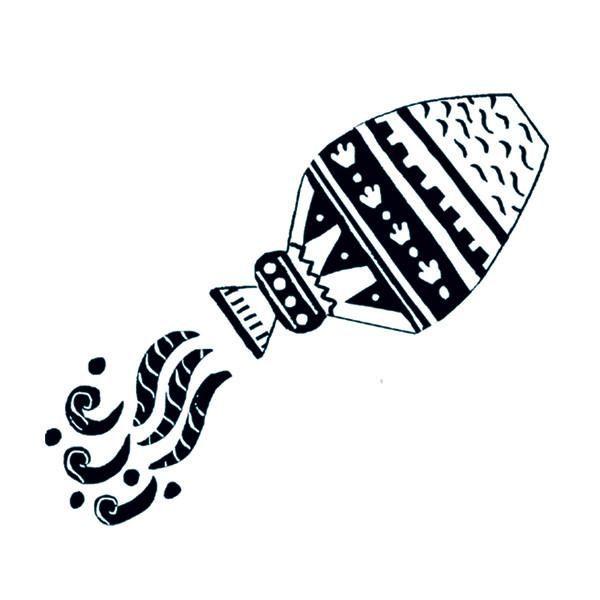 Aquarius | Tattly Temporary Tattoos | Signo acuario