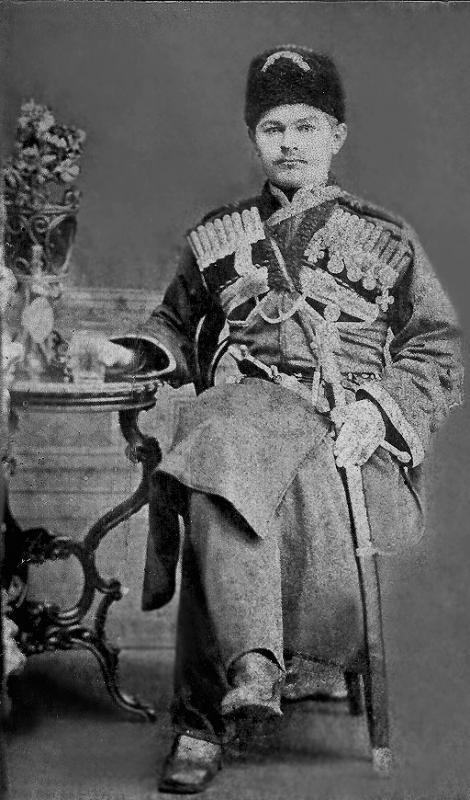 Е.М. Гладкий, начальник станицы Абинской (1863–1868 гг.). Снимок 60-х годов XIX века