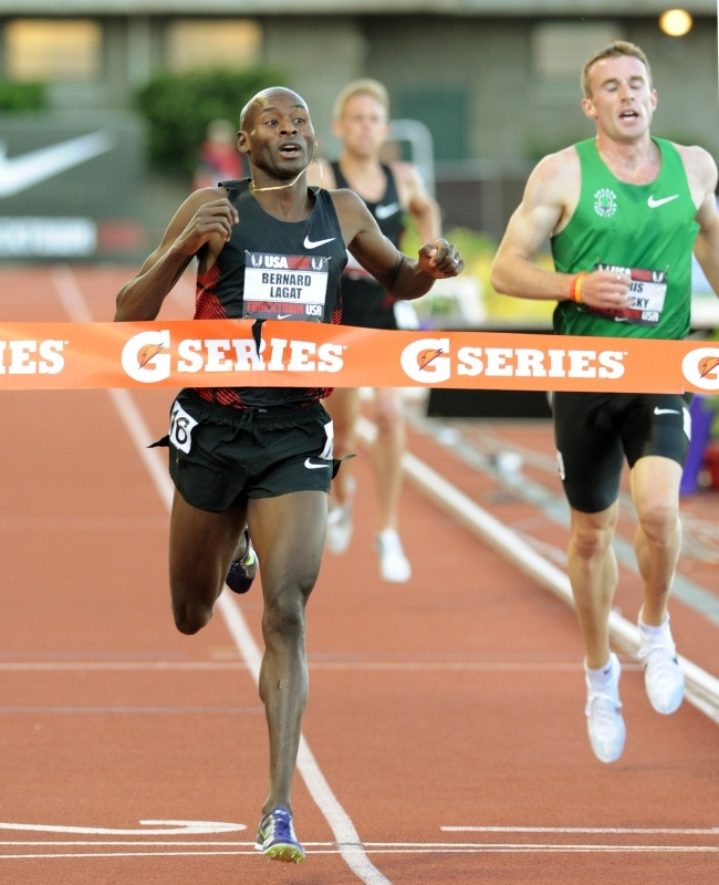 Prefontaine Classic Press Conference: My interview with Bernard Lagat