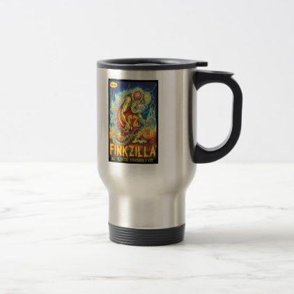 Acefink FinkZilla Travel Mug Rat Fink Kustom - decor gifts diy home & living cyo giftidea