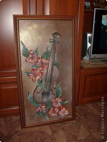 Картина панно рисунок картины из кожи Кожа фото 2