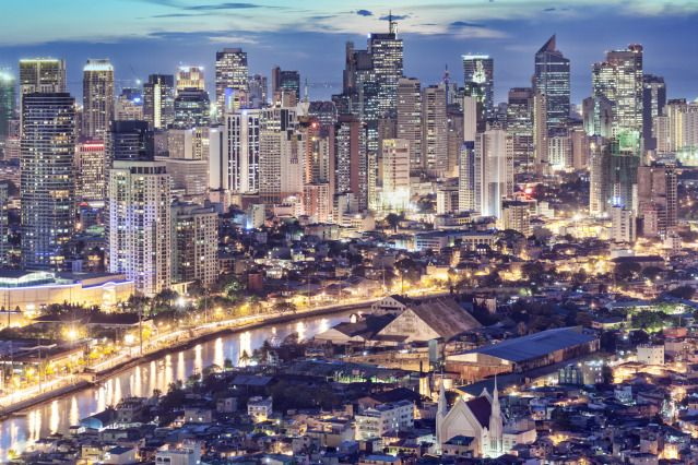 (PHOTO: Alex Robinson via Getty Images)  World's most crowded places:  The most crowded city (As the world's most densely populated city, Manila has over 43,079 people per square kilometre and the capital of the Philippines' most dense area is District 6 with 68,266 inhabitants per square kilometre. The city's population density overtakes that of Kolkata (27,774 inhabitants per km2), Mumbai (22,937 inhabitants per km2) and Paris (20,164 inhabitants per km2).
