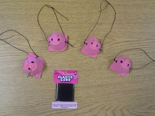 Fun in PreK-1: Fun with Fairy Tales & Friday Freebies. Little piggy noses made from egg cartons