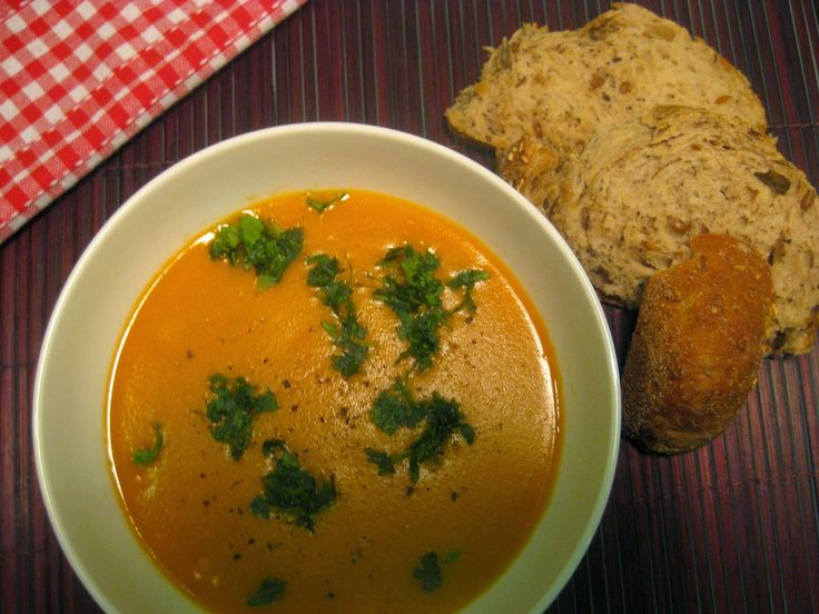 My Thermomix Kitchen - Blog for healthy low fat Weight Watchers friendly recipes for the Thermomix : Spiced Red Lentil and Chickpea Soup