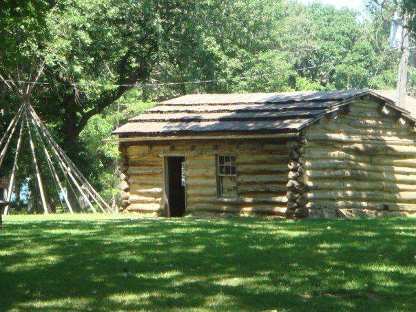 Abbie Gardner Cabin, site of the Spirit Lake Massacre, Spirit Lake, IA