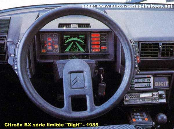 Citroen BX digit edition - 1985, back to the FUTURE!