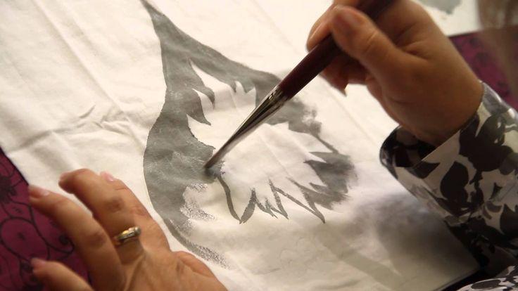 «Ручная работа». Рисунок на футболке (15.10.2014)
