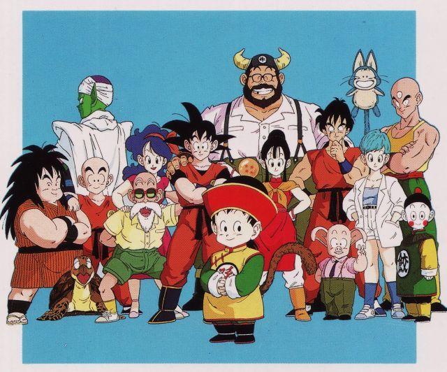 Artwork by Minoru Maeda, scan from Vintage (1990) Dragon Ball Z poster / Published by Toei Animation - Shueisha group - Studio Bird - Akira Toriyama - Fuji Tv - source : personal collection of Jinzu Hikari
